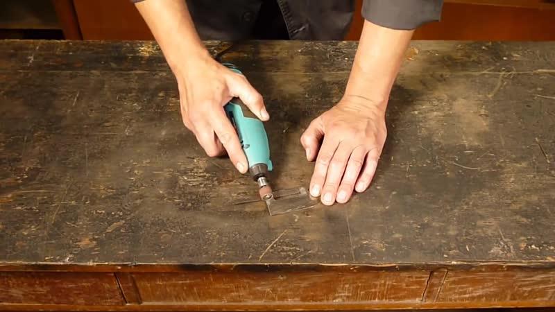 Нож Киевской Руси. Делаем своими руками подобие ножа из поднятой железки