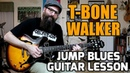 Rhythm Style of T-Bone Walker - Guitar Lesson w/tabs