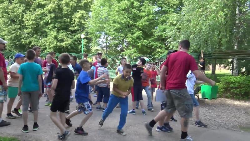 Лагерь НАБАТ 2018 Характер чемпиона день 1