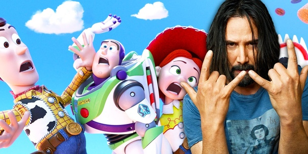Киану Ривз озвучил персонажа «Истории игрушек 4»