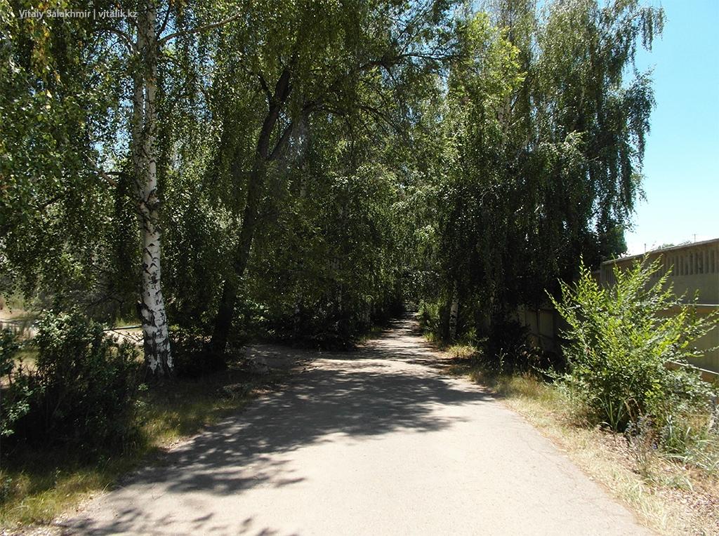 Дорога к озеру Иссык-Куль