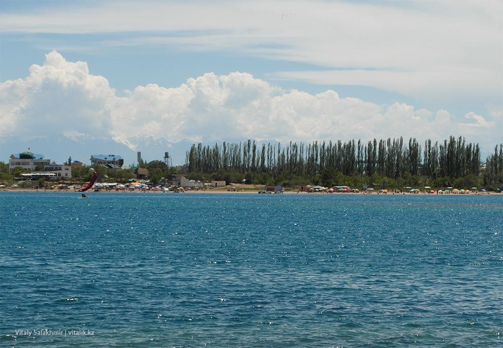 Обзор пляжа, Иссык-Куль