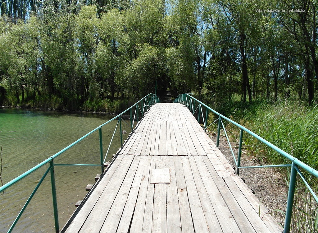 Мост для фотографий, Иссык-Куль 2018