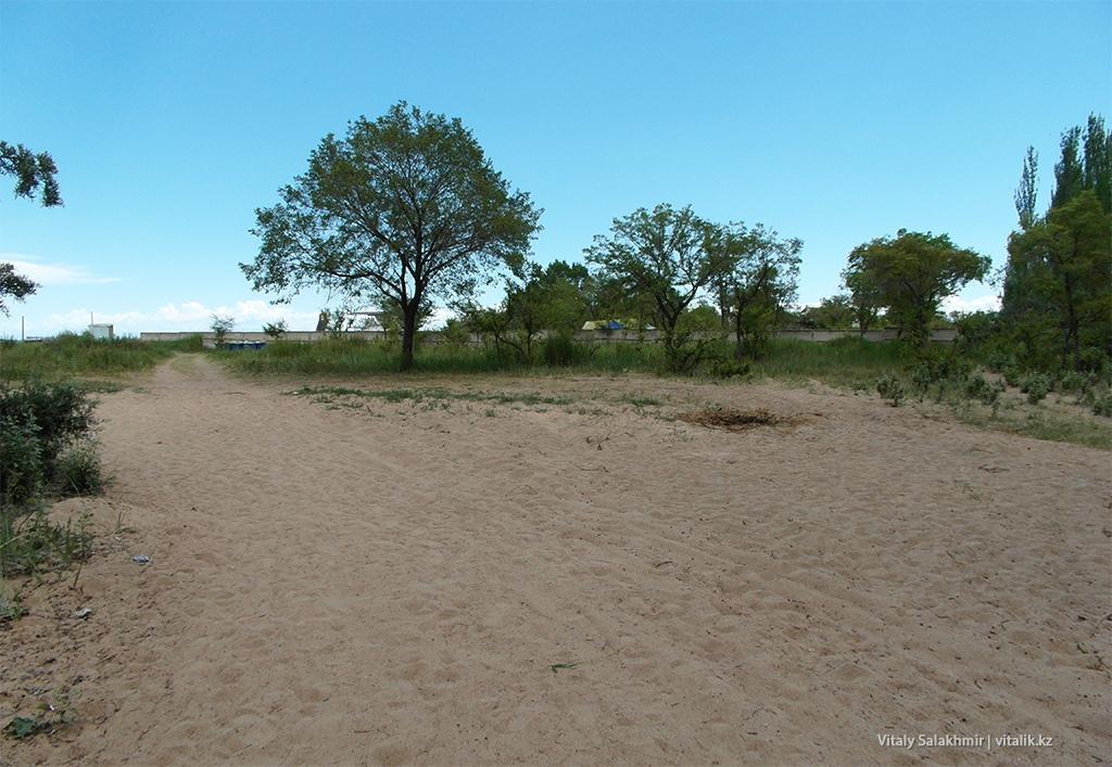 Песок возле Иссык-Куля