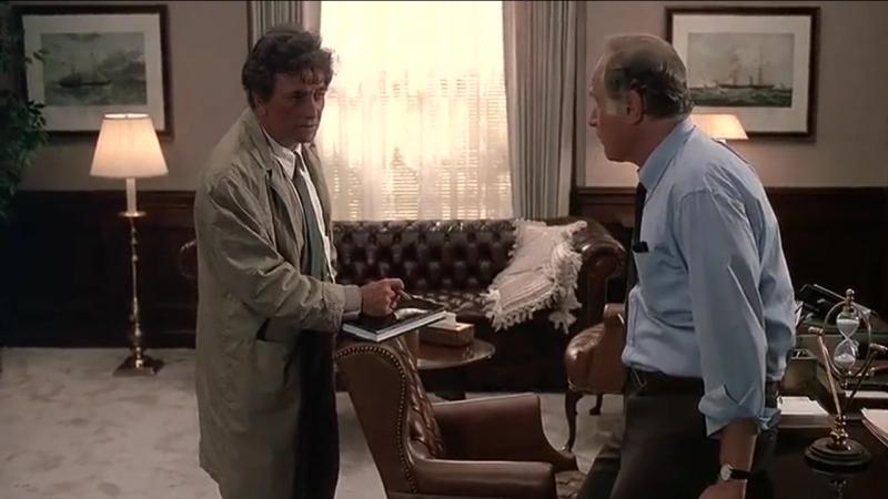 «Коломбо. Гений и злодейство» (1989) - детектив, реж. Джеймс Фроули