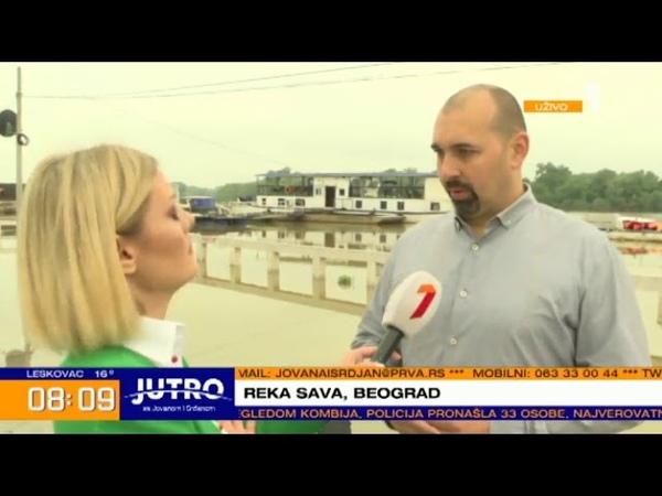 Zatvara se vodena rampa kod Kule Nebojša. 05-06-2019