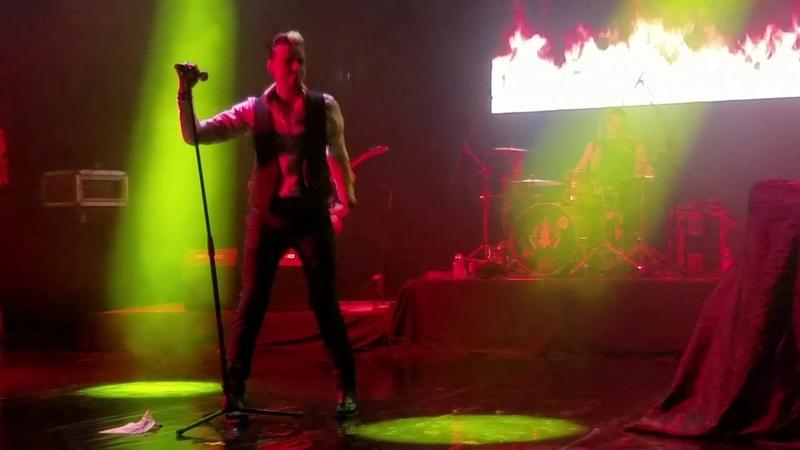LACRIMOSA Feuer Live Escena Monterrey 2019 Time Travel Tour En Vivo