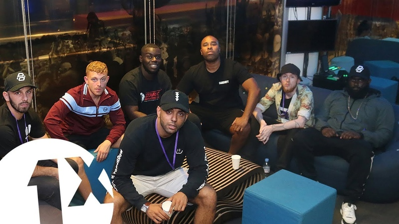 Studio 82 with The Manor, Little Dee, P Money Shizz Mcnaughty @BBC 1Xtra
