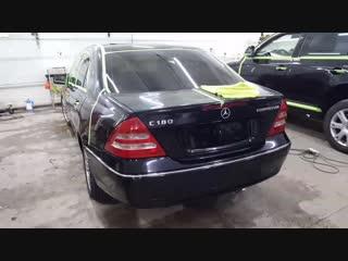 Полировка Mercedes-Benz C180