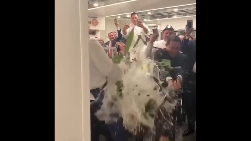 If I try to open a bottle of expensive champagne by bashing the crap out of it?