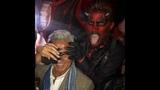 Adam Lambert @ Heidi Klum &amp Hospital849 Halloween parties, NYC October 31