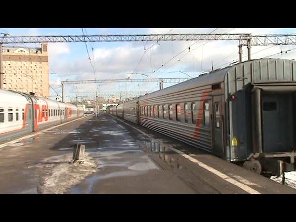 Электровоз ЭП20-045 с дневным поездом №48 Москва - Муром