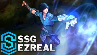 SSG Ezreal Skin Spotlight - Pre-Release - League of Legends