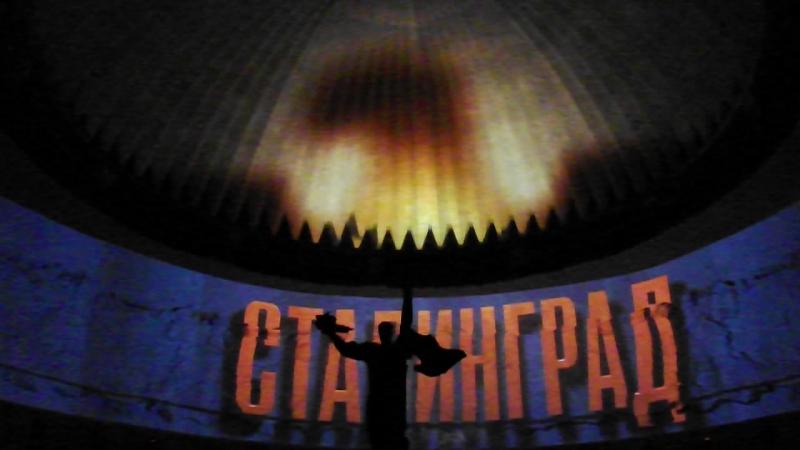 Москва. Инсталяция в музее Победы ч.2
