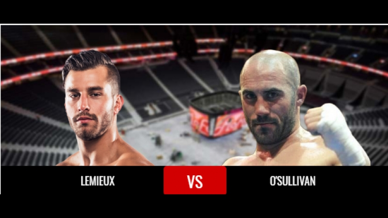 Бокс. Gary OSullivan vs. David Lemieux (720p)