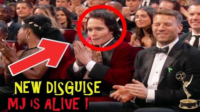 SHOCK Michael Jackson SEEN ALIVE 2018 at Emmy Awards