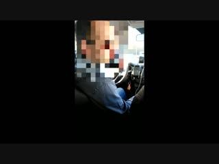 Водитель uber шокировал. видео пользователя