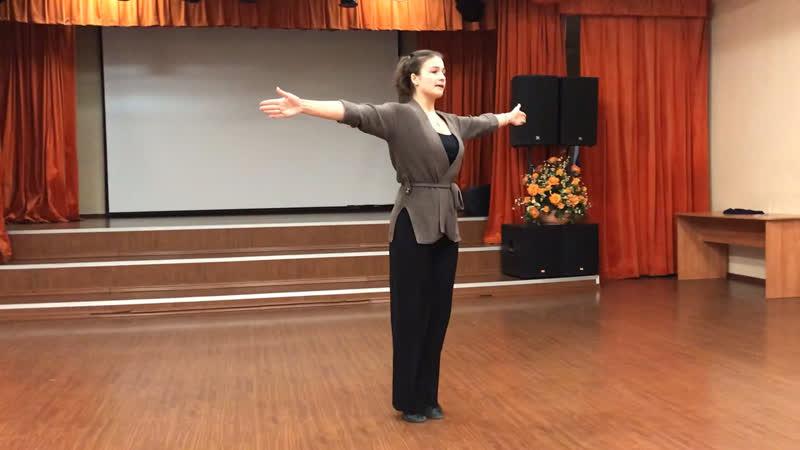Танец вальс Фигуры Виск и шассе