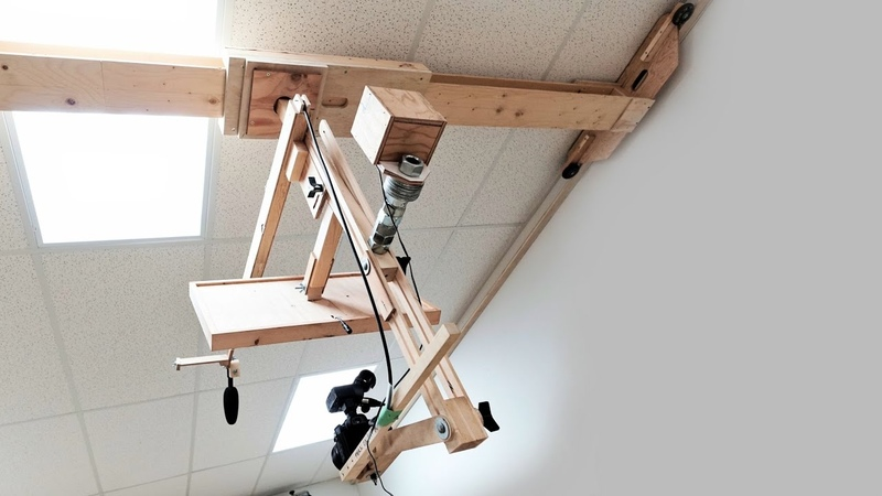 My Wooden Camera Gantry And Other Video Gear