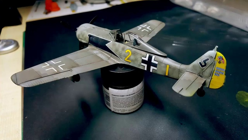 Eduard Weekend edition 1/72 Fw 190A-5 Full Build