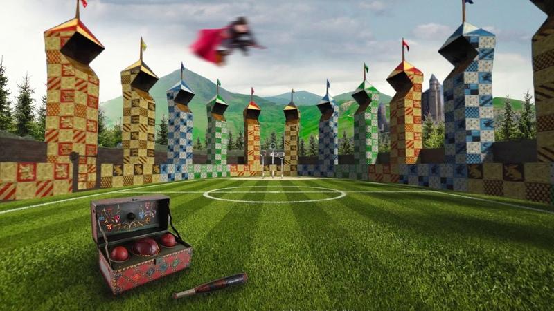 Поле для Квиддича | Quidditch Pitch | Harry Potter ϟ Ambience