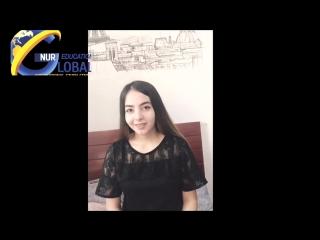 Шахноза Отзыв студентки из Таджикистана