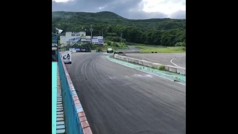 今日はエビスサーキットでスクールです。 先週末のFD japan はマシントラブ