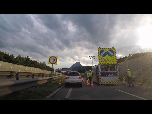 Австрия закрыла границы. Пока временно