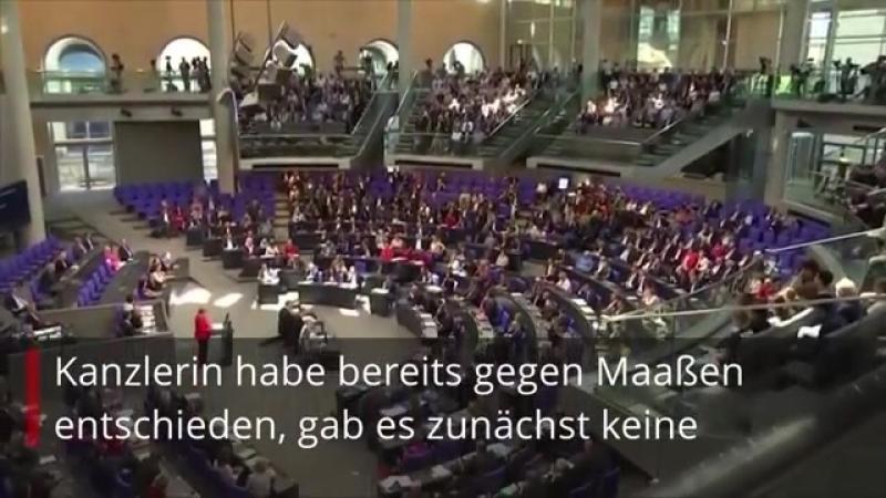 ► Merkel-Entscheidung im Fall Maaßen stellt Union vor neue Zerreißprobe