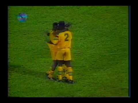 Brasil 8 x 2 Gana - Amistoso 1996