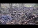 Разлом на горе Песчанная Город Катав Ивановск Последствия оползня с горы Песчанная