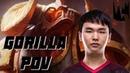 GorillA plays Alistar support - MSF vs. SPY / POV [LEC 2019 Spring] | League of Legends