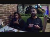 Иностранцы в России #1_ Камерунка и индиец в кафе азиатской кухни - YouTube (1080p)