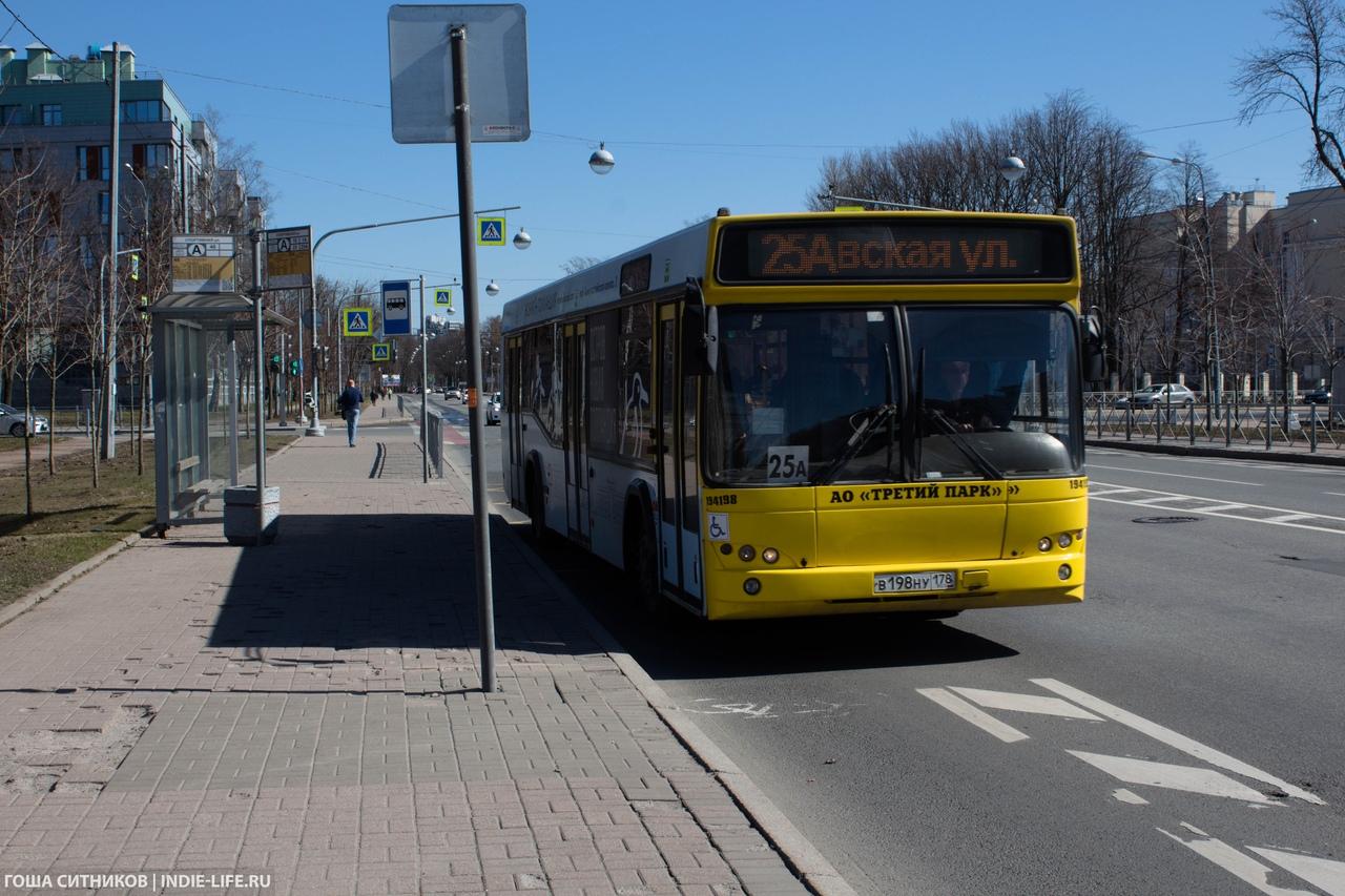 Автобус Крестовский остров