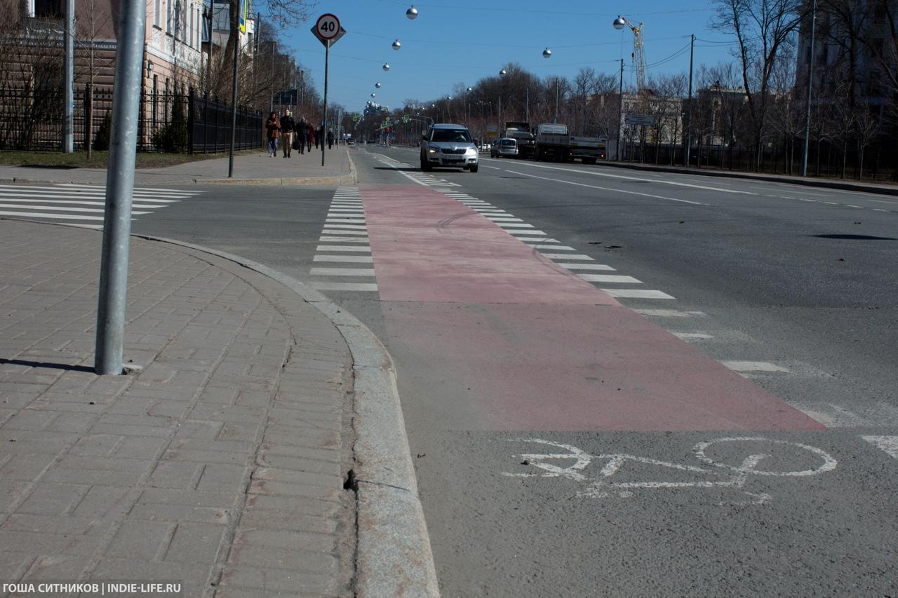 Велодорожка Крестовский остров
