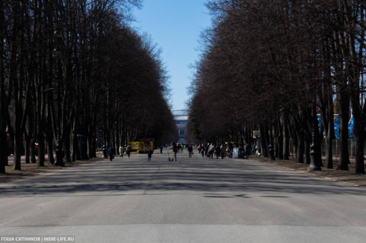 Парк Крестовский