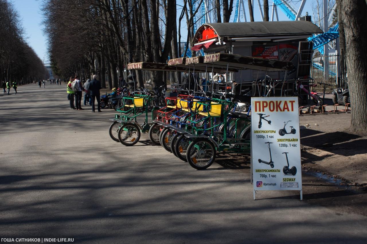 Прокат велосипедов Крестовский