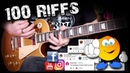 100 Greatest Guitar Riffs - Suggested by YOU! \m/