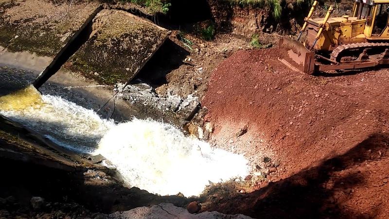 Река Калья уходит под землю/ Новости Североуральска - www.nslovo.info