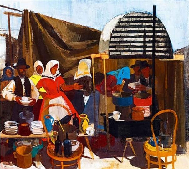 Вильмош Аба-Новак  выдающийся венгерский художник и график
