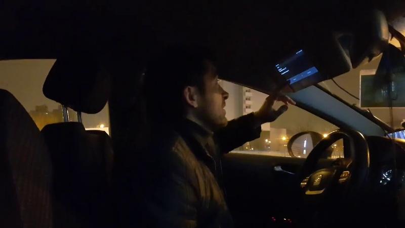 В Минске ватного таксиста колорада заставили снять колорадку