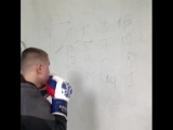 Тренировка для боксера на скоростное мышление по методике Василия Ломаченко.