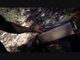 Разрушительное Ранчо - Зебра - Как сильно отдача откинет пистолет, который не держат