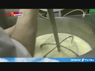 Первый канал. Валаамский сыр. (5.06.2015)