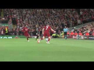 Milner vs Neymar (ação 31.7 - LFC x PSG (18/09/18))