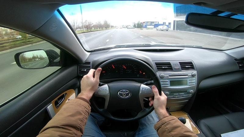 2007 Toyota Camry 2.4L (167) POV Test Drive