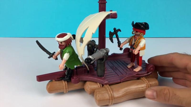 Конструктор Playmobil Пираты пиратский плот 6682
