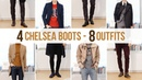 8 Different Chelsea Boot Outfits Men's Fashion Outfit Ideas