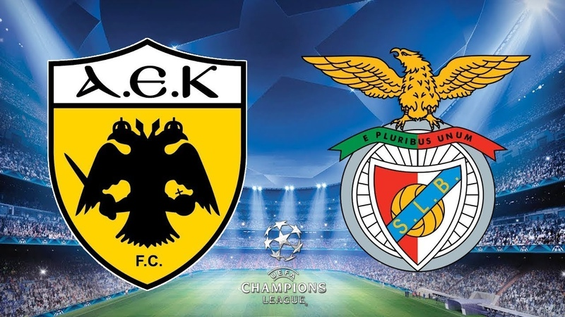 AEK Athens vs Benfica 2-3 All Goals Highlights 2018