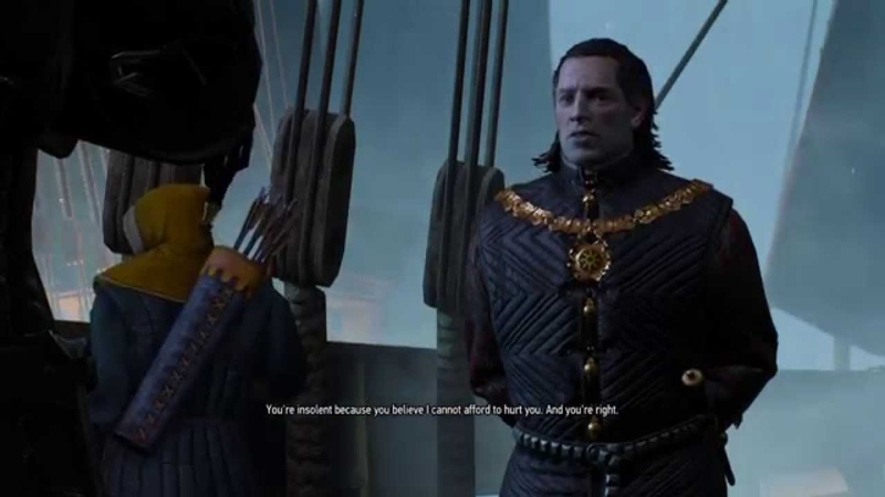 The Witcher 3: Wild Hunt Convincing Emhyr var Emreis to release Fringilla Vigo